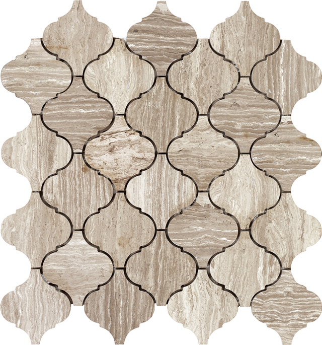 Natural Stone Mosaic Tiles|Musivo|Lattern