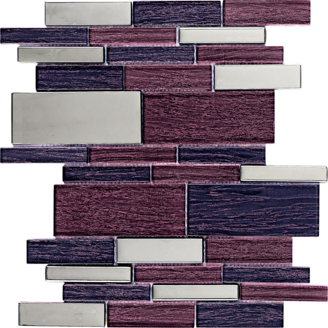 Magic Interrock Glass Mosaic Tile 30x30 |Musivo|Magic
